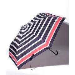 パネルボーダー柄折りたたみ傘雨傘