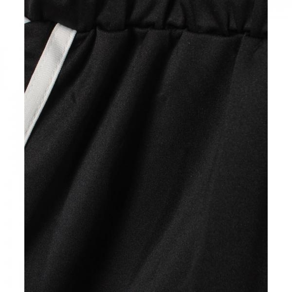 ジャージフレアミニスカート