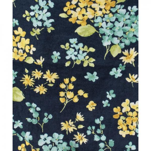 花柄ノースリーブブラウス
