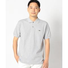 LACOSTE:【L1264AL】ヘザー ポロシャツ【お取り寄せ商品】