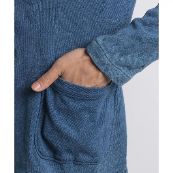 インディゴ天竺テーラードジャケット
