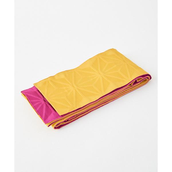 半巾帯「麻の葉無地」