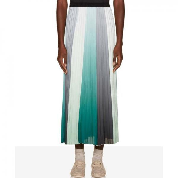 【セットアップ対応商品】マルチカラープリーツスカート