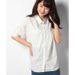 ドロップショルダーボタンダウンシャツ