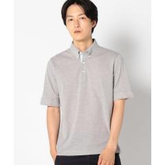 SC: COOLMAX(R) コットン/リネン カノコ ボタンダウン ポロシャツ【お取り寄せ商品】