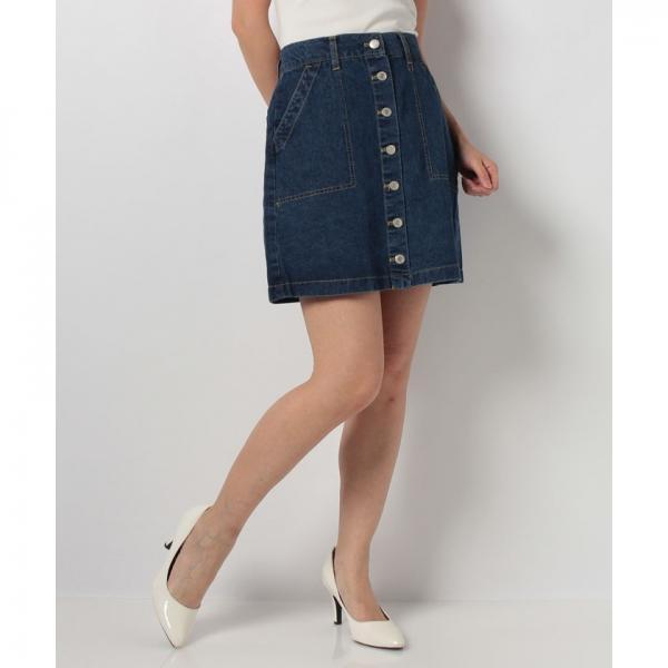 ベイカーポケット台形スカート