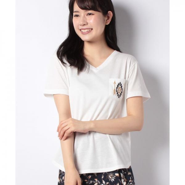 オルテガ刺繍Tシャツ