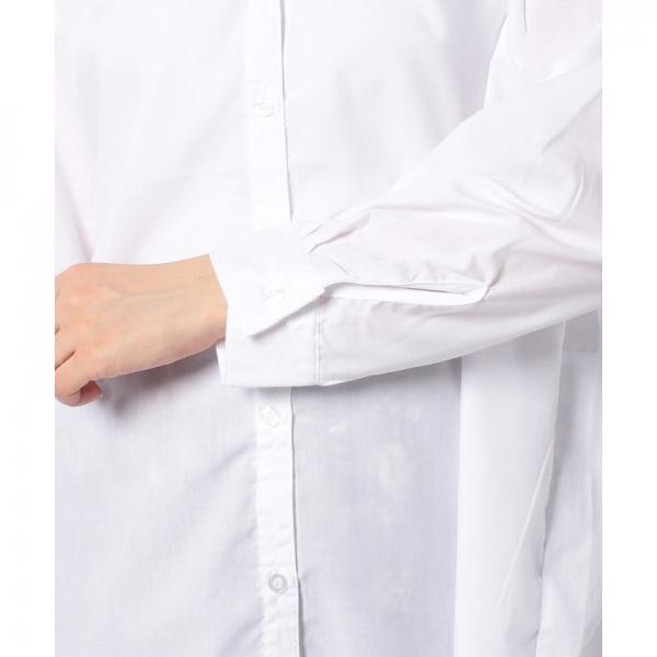 バックプリントビッグシルエットシャツ