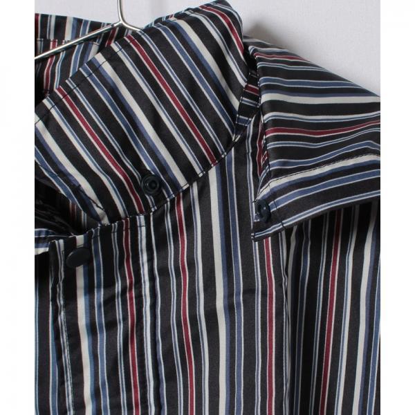 縞柄コート(キッズサイズ)