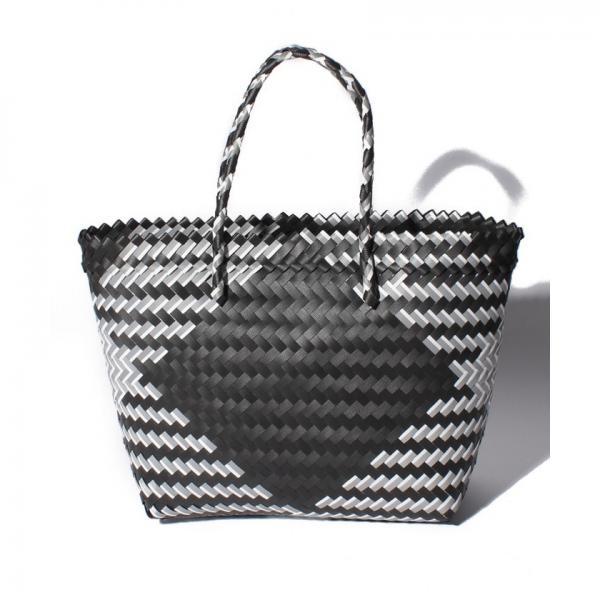 ダイヤ柄編みトートバッグバッグ【A4サイズ対応】