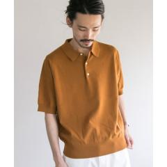 コットンニットポロシャツ【お取り寄せ商品】