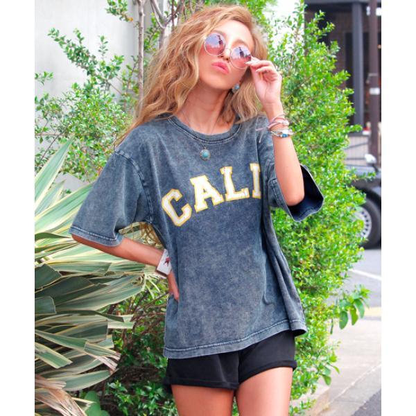CALIFロゴTシャツ