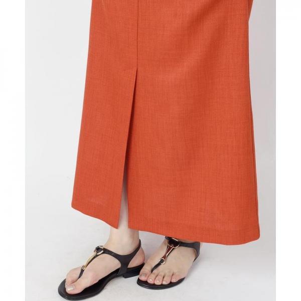 Khaju:スリットタイトロングスカート【お取り寄せ商品】