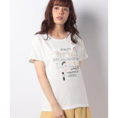 ロゴモチーフTシャツ