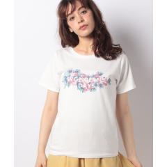 フラワーロゴTシャツ