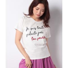 フロッキーロゴTシャツ