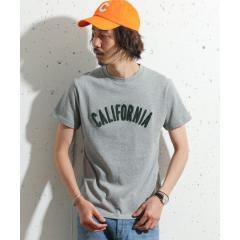 サガラ刺繍californiaTシャツ【お取り寄せ商品】