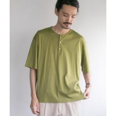 SMOOTH HENLEY OVER T-SHIRTS【お取り寄せ商品】