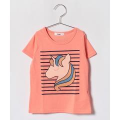 ユニコーンプリントTシャツ