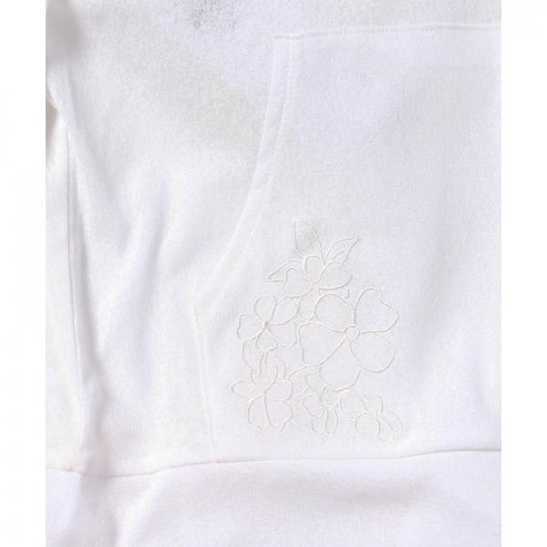★UVケア★ポケット刺繍入りパーカー(8L15-06020)