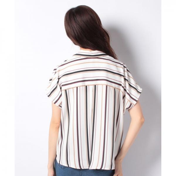 裾タックマルチSTスキッパー半袖シャツ