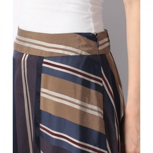 【セットアップ対応商品】Multi Stripe Skirt