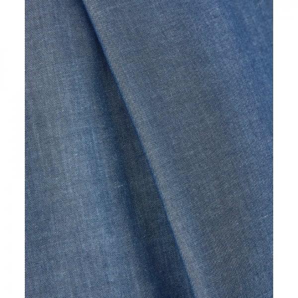 【3サイズ展開】【洗える】ダンガリーツイルワイドパンツ【お取り寄せ商品】