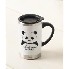 パンダ柄スリムマグカップ