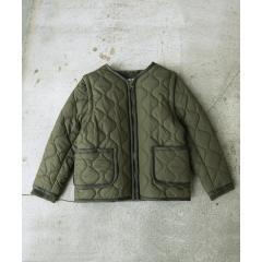 【coen キッズ / ジュニア】2WAYキルティングジャケット/ブルゾン/コート(100〜150cm)【お取り寄せ商品】