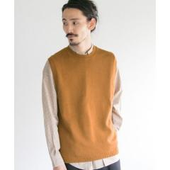 C/CASHMERE KNIT VEST【お取り寄せ商品】
