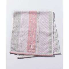 アニマル刺繍フェイスタオル