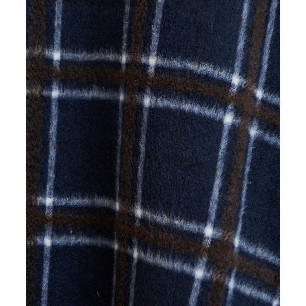 ウール混立体シャギーフレアスカート