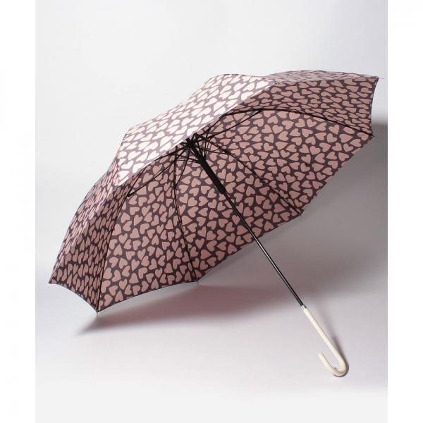 ハート柄ジャンプ長傘