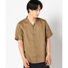 SC: ファイン ラミー オープンカラーシャツ【お取り寄せ商品】