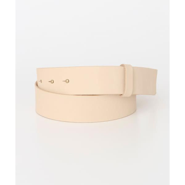 MASTER&Co. LEATHER BELT【お取り寄せ商品】