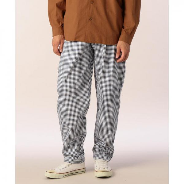 【COOK MAN/クックマン】CHEF PANTS(ギンガム)【お取り寄せ商品】