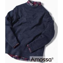 SC: コットン/ウール AMOSSA(R) ボートネック ニット【お取り寄せ商品】