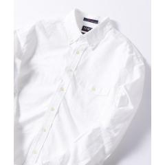 SERO×SHIPS JET BLUE: 別注 オックスボタンダウンシャツ【お取り寄せ商品】