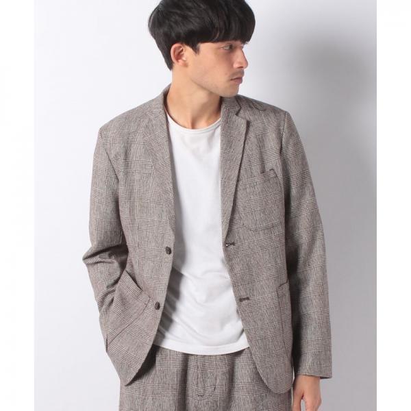 c56fa7a30f79b LOHACO -  セットアップ対応商品 グレンチェック ジャケット (スーツ ...