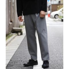 【WEB別注】ウォームクロスワイドテーパードパンツ
