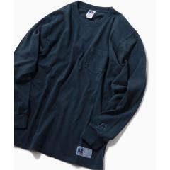 RUSSELL ATHLETIC×SHIPS: 別注 ユーズド加工 ロングTシャツ 19SS【お取り寄せ商品】