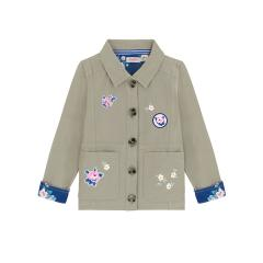 【130-135cm】ジュニア リラックスド サマージャケット ソリッド