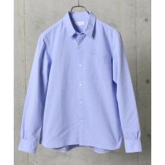 SHIPS JET BLUE: COOLMAX ドビードット レギュラーカラーシャツ【お取り寄せ商品】