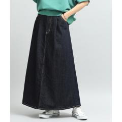 【泉里香さん着用】【Lee×ViS】デニムマキシスカート【お取り寄せ商品】