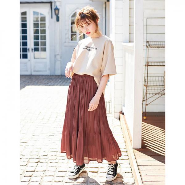 【4/9 ヒルナンデス紹介】プリーツ/スカート