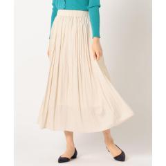 割織ロング丈ギャザースカート【お取り寄せ商品】