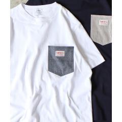 【女性にも人気】SMITH別注ポケットTシャツ19SS(一部WEB限定カラー)【お取り寄せ商品】