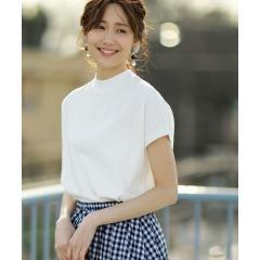 【WEB限定カラーに新色ブラウン登場】USAコットンハイネックTシャツ【お取り寄せ商品】