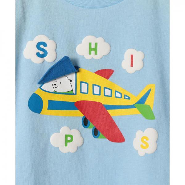417d1f5e1023c LOHACO - SHIPS KIDS ベビー 乗り物 プリント TEE(80~90cm) お取り寄せ ...