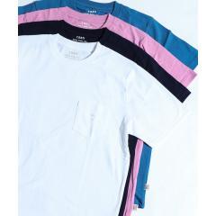 USAコットンクルーネックTシャツ【お取り寄せ商品】